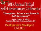 2013 Tribal Self-Governance Annual Conference